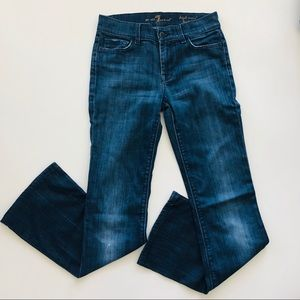 7 For All Mankind High Rise Boot Cut Stretch